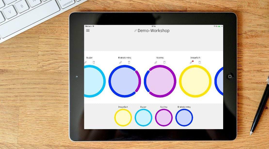 Ideen App meetings neu gedacht bei mindflow entstehen ideen durch