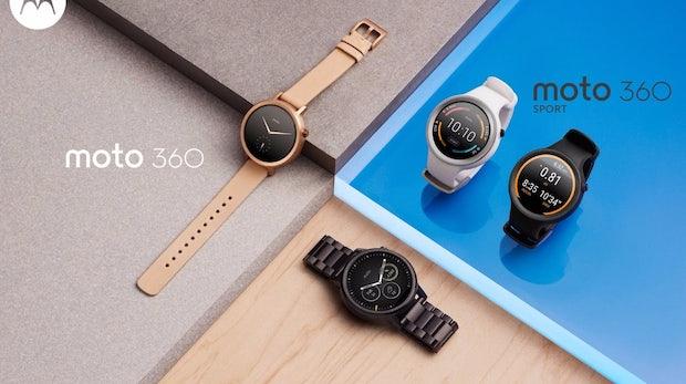 Die neue Moto 360 ist da: Motorolas Smartwatch kommt in unterschiedlichen Versionen