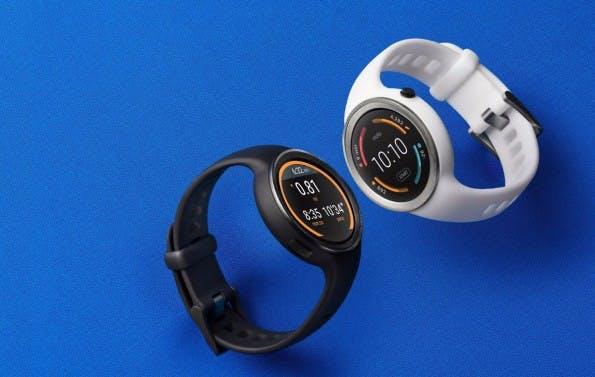 Die Moto 360 Sport kommt mit eingebautem GPS-Modul und kann damit gut ohne Smartphone genutzt werden. (Foto: Motorola)