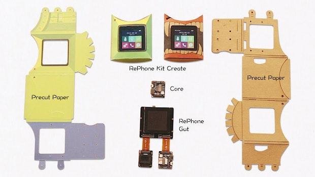RePhone Kit: Smartphone-Baukasten für Bastler. (Grafik: Seeed)