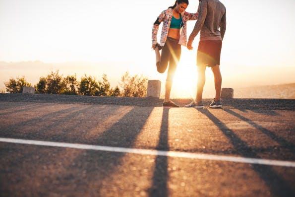Sport vor der Arbeit fördert die Produktivität. (Foto: Jacob Lund / Shutterstock)