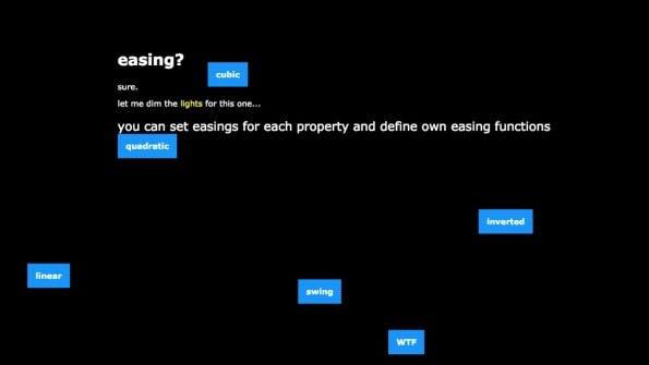 Die Demos zu skrollr zeigen, was geht, sind aber keine Augenweide. (Screenshot: skrollr)