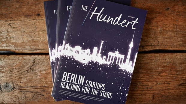 "Startup-Führung durch Berlin: Gewinnt 10 Exemplare des Magazins ""The Hundert"""