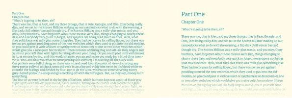 Links sehr ihr den Text ohne typographische Grundstrukturen, rechts den gleichen Text mit Struktur. (Screenshot: Luke Jones, InVision Blog)