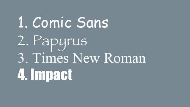 Fiese Fonts: Die Stories hinter den unbeliebtesten Schriftarten der Welt