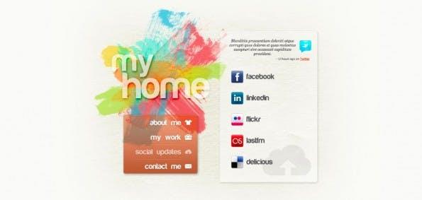 webvisitenkarten template vcard 1