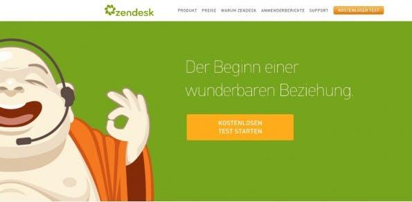 Zendesk: Das Unternehmen mit dem Buddha ist auf Technologien für den Kundenservice spezialisiert.