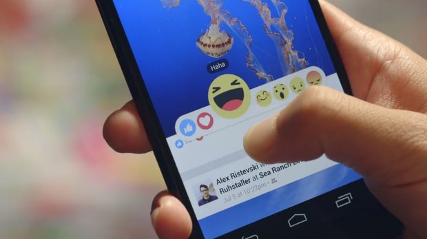 Schluss mit nur lustig: Facebook motzt seinen berühmten Like-Button auf