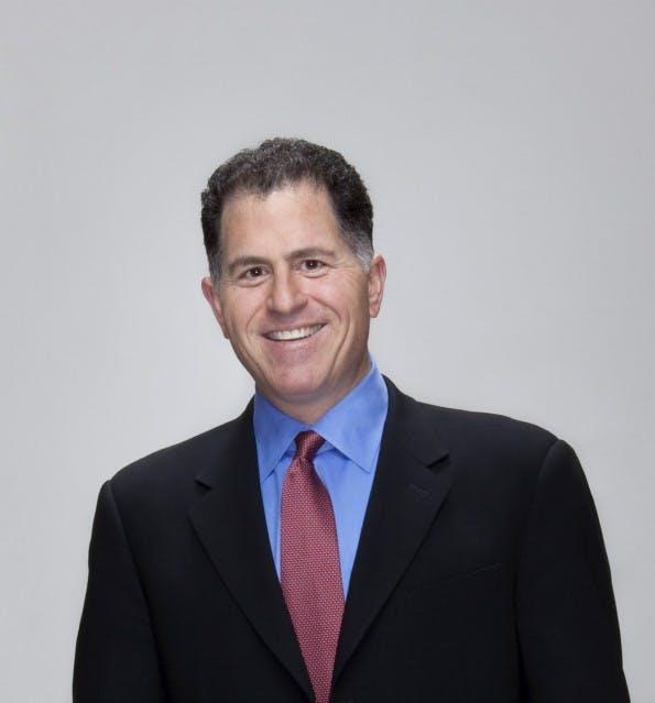 Hat gut Lachen: Michael Dell steht vor der milliardenschweren Übernahme von EMC. (Foto: Dell)