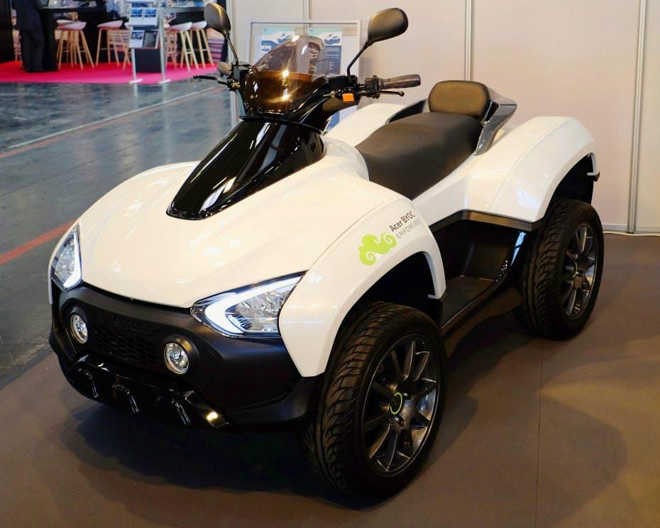 """Erstes Elektroauto von Acer: Quad """"X Terran"""" vorgestellt"""