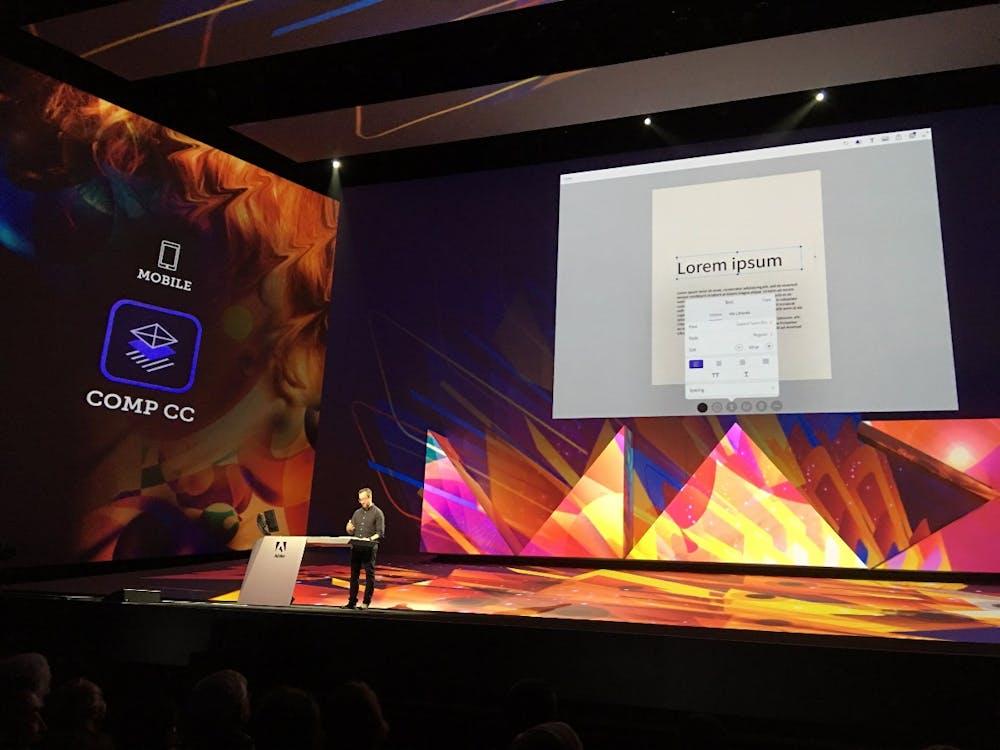 Adobe hat es geschafft, den Schriftendienst Typekit auf Mobilgeräten und Layouts verfügbar zu machen. (Foto: t3n)