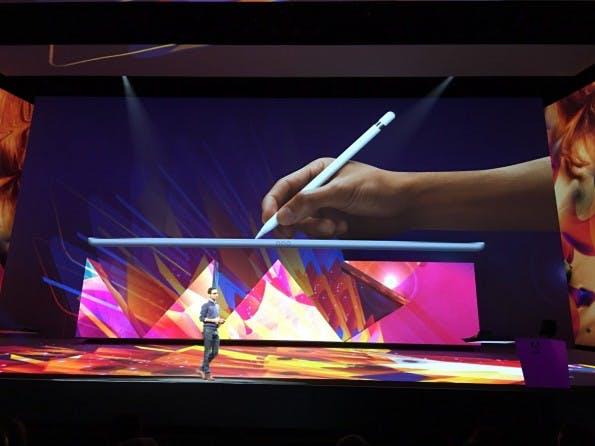Das iPad Pro könnte bei den Möglichkeiten mit Mobile Apps noch einmal für kräftigen Aufwind sorgen. (Foto: t3n)