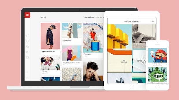 Einfach, schick und sozial: Mit Adobe Portfolio können Designer ihre Werke ansprechend präsentieren