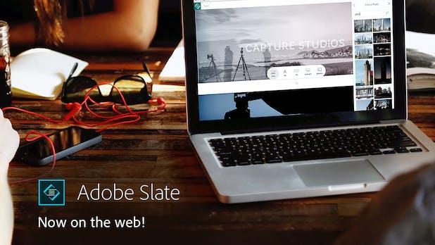 Storytelling-Tool Slate: Adobe veröffentlicht kostenlose Web-Version