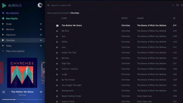 Aurous holt sich Musik von anderen Streaming-Anbietern. Ob das legal ist, wird das Gericht entscheiden. (Bild: Screenshot)