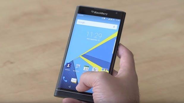Das Blackberry Priv wird ein teurer Spaß