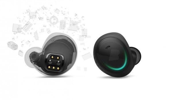 Dem Startup Bragi ist es gelungen, das visionäre Konzept eines smarten Ohrsteckers in ein seriennahes Produkt zu überführen. (Foto: Bragi)