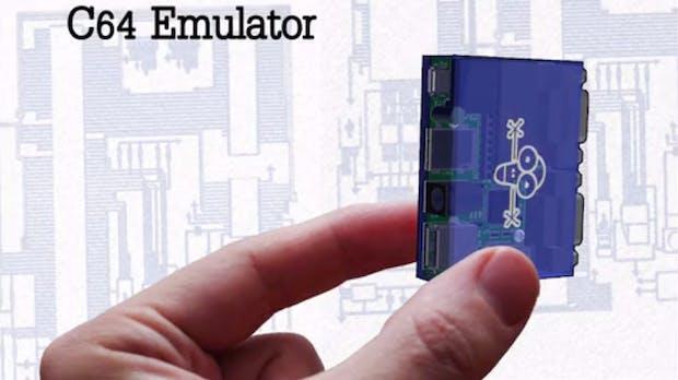 Klein aber retro: Winziger C64-Emulator landet auf Kickstarter