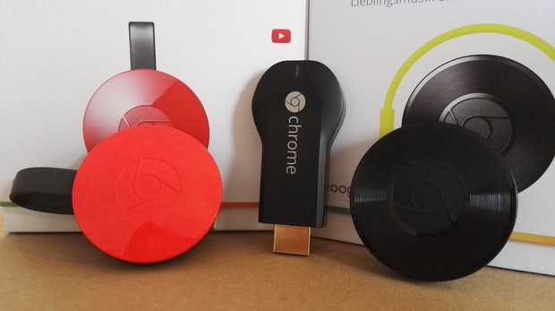 Chromecast (2015) und Chromecast Audio im Test
