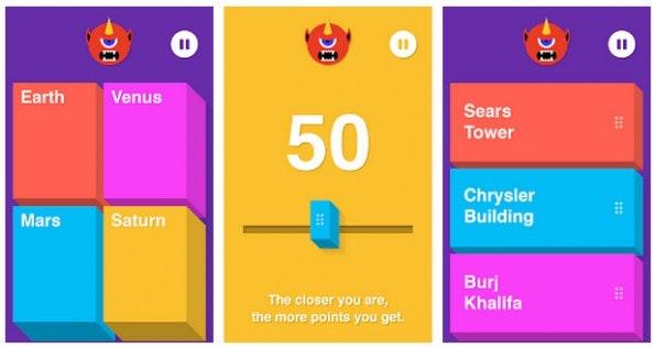 Chromecast-App: Big Web Quiz kann mit bis zu fünf Freunden gespielt werden. (Screenshot: Google-Play-Store)