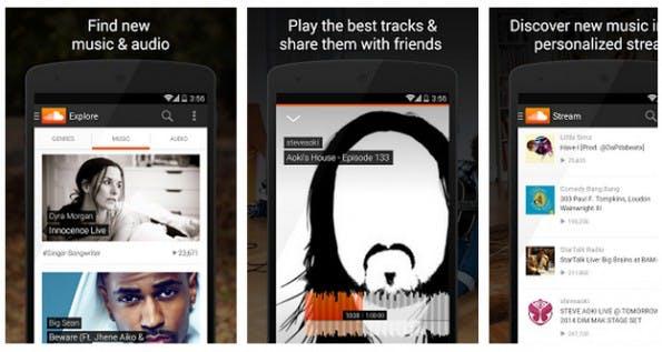 Soundcloud bietet Unterstützung für Chromecast Audio. (Screenshot: Play-Store)