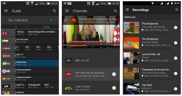 Chromecast: Auch einige kostenfreie Apps versorgen euren Fernseher mit frischen Inhalten. (Screenshot: Play-Store)