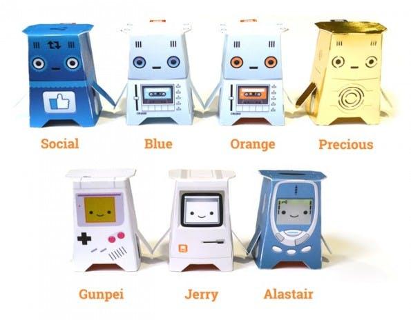 Crafty Roboter: Viel kann der Roboter zwar nicht, dafür ist er aber sehr günstig. (Grafik: Kickstarter)