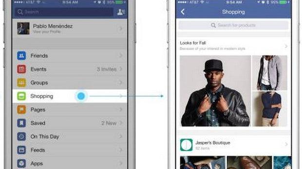 Facebook weitet Social-Commerce-Offensive aus: Test zeigt dedizierten Shopping-Feed