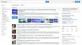 Die Idee für Google News entstand nach den Anschlägen des 11. September. (Screenshot: Google News)