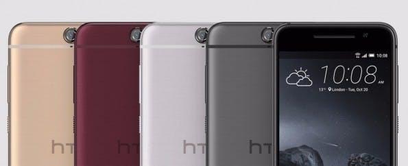 In diesem Farben wird das HTC One A9 zu haben sein. (Bild: HTC)