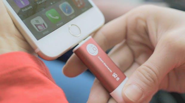 iPhone-Speicher voll? Dieser schicke Lightning-USB-Stick bringt dir bis zu 256 Gigabyte zusätzlich