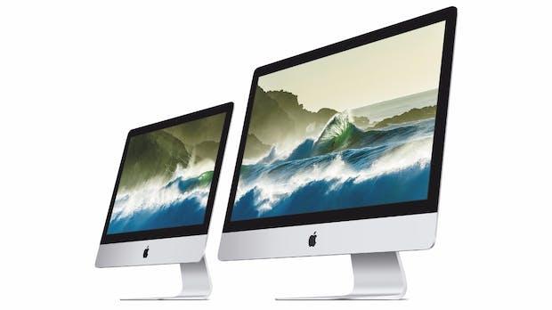 21,5 Zoll und 4K-Display: Apple präsentiert neue iMac-Familie