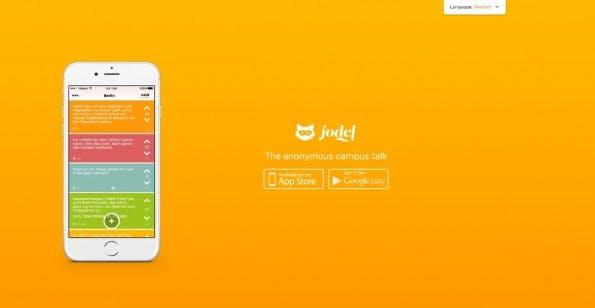 Auf Dauer dürfte Jodel mehr werden als nur der anonyme Campus-Talk, den die Macher versprechen. (Screenshot: jodel-app.com)