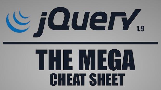 jQuery-Cheat-Sheet: Der Spickzettel zur am häufigsten verwendeten JavaScript-Bibliothek