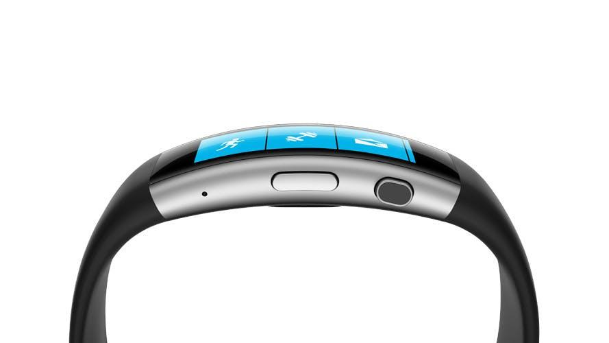 Schickes Microsoft-Wearable: Fitness-Armband Band 2 hat 11 Sensoren