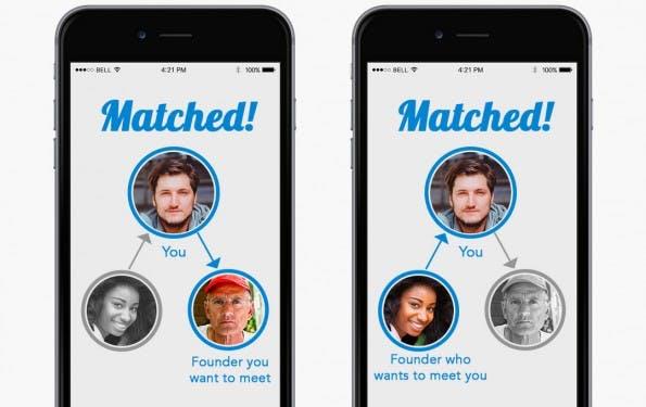 Networking-App: PIF will Menschen aus der Startup-Szene zusammenbringen. (Screenshot: PIF)