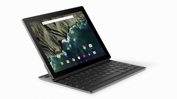 Pixel C: Android-Tablet mit Hardware-Tastatur. (Bild: Google)