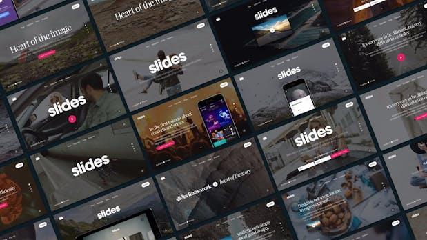 Slides Framework: Schnell animierte Websites erstellen