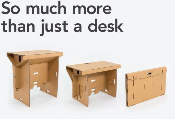 designer stehtisch aus pappe refold ist gut f r euren r cken t3n. Black Bedroom Furniture Sets. Home Design Ideas