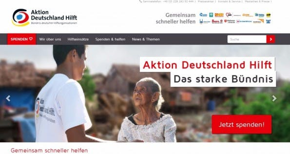 Die Gewinner-Website bei den TYPO3-Awards von Aktion Deutschland. (Screenshot: Holiday Home)