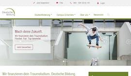 Die Gewinner-Website bei den TYPO3-Awards von Hapag Lloyd. (Screenshot: Die Gewinner-Website bei den TYPO3-Awards von der Deutschen Bildung. (Screenshot: Deutsche Bildung)
