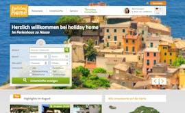 Die Gewinner-Website bei den TYPO3-Awards von Holiday Home. (Screenshot: Holiday Home)