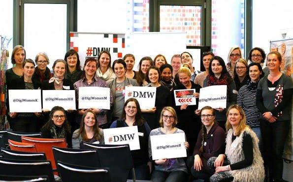 Das Team des Jahres: Die Digital Media Women. (Foto: DMW)
