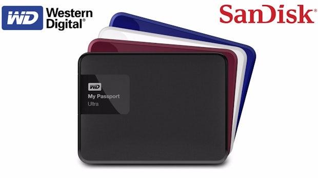 Western Digital übernimmt SanDisk für 19 Milliarden US-Dollar