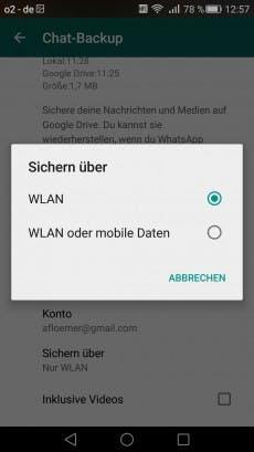 whatsapp geht nur mit wlan vodafone iphone