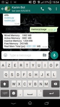 whatsapp-bot-whatsappcli-memory-usage