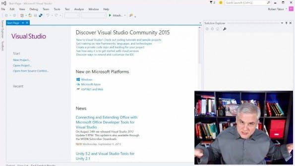 Windows-10-Apps entwickeln: Microsoft bietet kostenlosen Videokurs für Einsteiger an. (Screenshot: channel9.msdn.com)