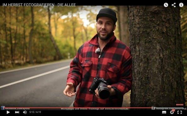 Ganz ohne fotografische Ausbildung hat sich Jaworskyj im Selbststudium zum Experten und YouTube-Star für digitale Fotografie hochgearbeitet. (Screenshot: Benjamin Jaworskyj)