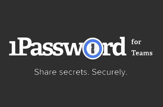 1Password for Teams lässt euch gemeinsame Zugangsdaten ganz leicht teilen
