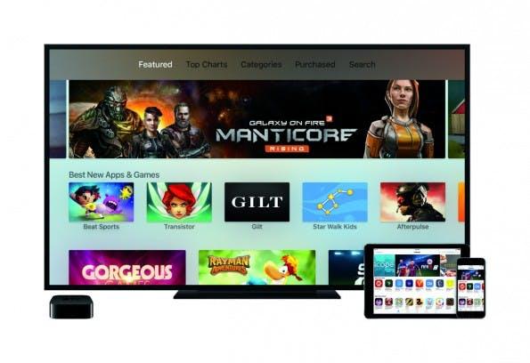 Apple TV 4 ist ab sofort erhältlich. (Bild: Apple)